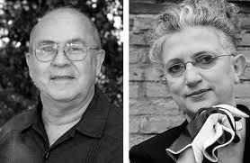 Miguel Barnet y Ana Rossetti en Poesia en Abril