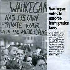 Waukegan, y su guerra anti-inmigrante
