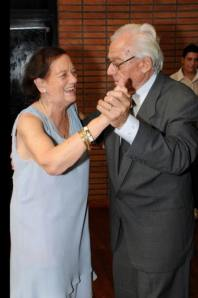 Tita y Orfi: it takes two to tango.