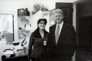 Monica y Bill, que tiempos!