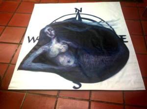 La Sirena, su cartel, acunada por los puntos cardinales