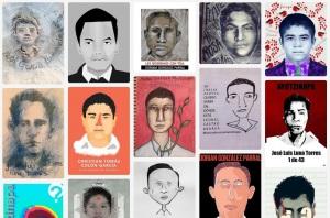 Trabajo de #IlustradoresConAyotzinapa