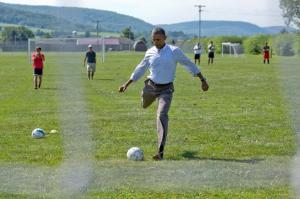 Obama remata a FIFA