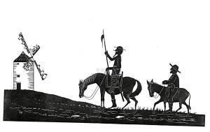 Don Quijote siempre cabalga