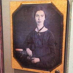 Único daguerrotipo conocido de Emily Dicksinson, a los 16 años.